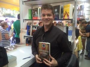 Óscar Herradón en la Feria del Libro de Madrid 2014.