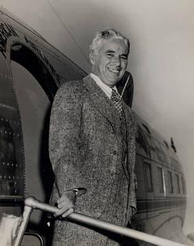 Chaplin en 1940 en Nueva York