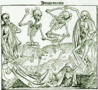 """""""La danza de la muerte"""" fue reproducida en pinturas y grabados"""