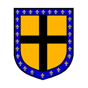 Escudo con el emblema de Gilles de Rais