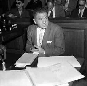 Lionel Stander demostró un gran valor ante la Comisión