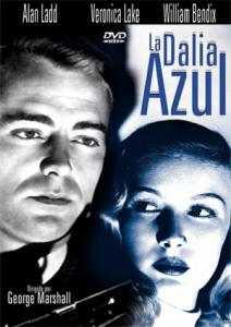 """Cartel de la película """"La Dalia Azul"""""""