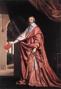 El cardenal Richelieu, valido de Luis XIII