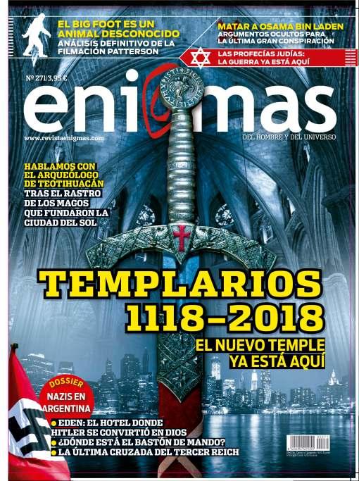 Último número de la revista Enigmas